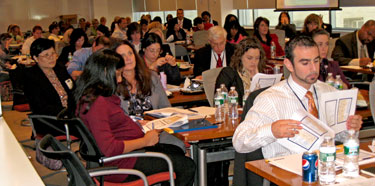 Photo: Attendees at New York Symposium